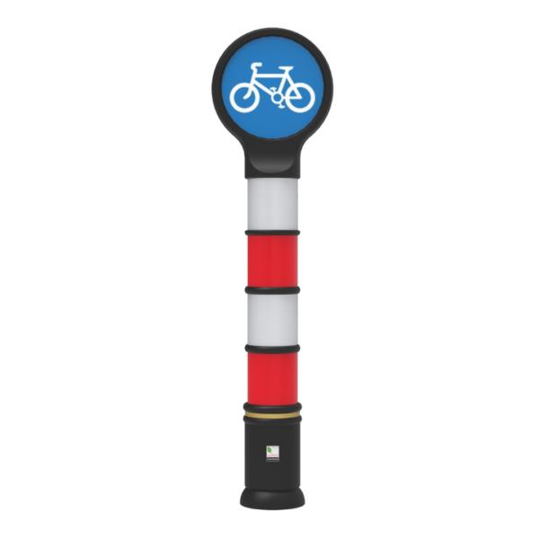 cycle lane bollards