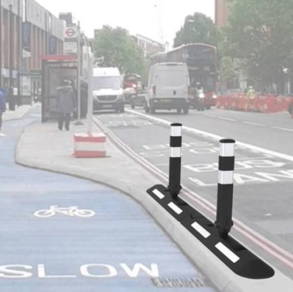 cycle lane separator bollard
