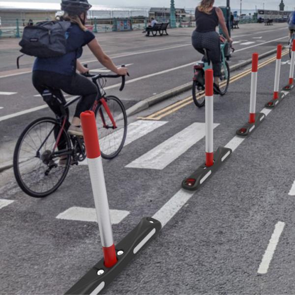 cycle lane bollard